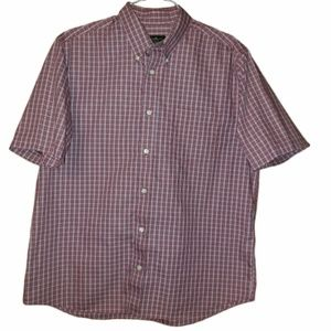 Men's Eddie Bauer button down plaid shirt
